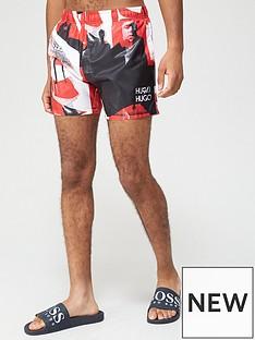 hugo-djerba-logo-swim-shorts