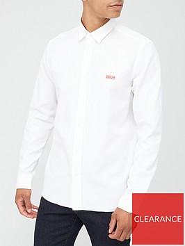 hugo-evart-oxford-shirt-white