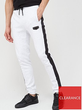 supply-demand-prestige-side-stripenbspjoggers-white
