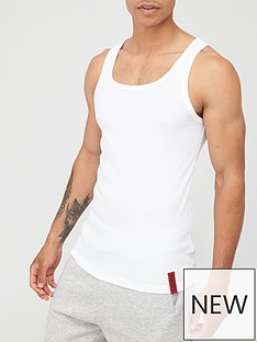hugo-idol-tank-top-white