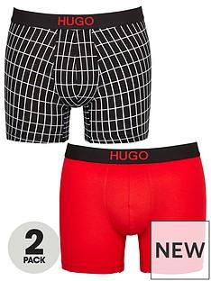 hugo-bodywear-2-pack-print-boxer-shorts-blackred