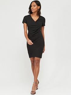v-by-very-v-neck-wrap-shift-dress-black