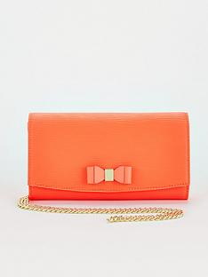 ted-baker-bow-detail-crossbody-matinee-purse-orange