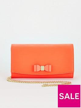 ted-baker-bow-detail-crossbody-matinee-purse-orange