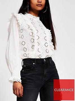 ri-petite-high-neck-victoriania-broderie-top-white