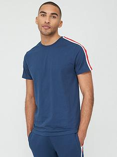 v-by-very-sports-tape-short-sleeve-t-shirt-navy