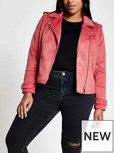ri-plus-ri-plus-suedette-biker-jacket