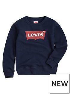 levis-boys-batwing-crew-neck-sweat-navy