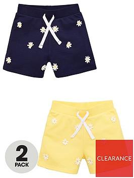 v-by-very-girls-2-pack-daisy-shorts-multi