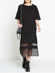 allsaints-fran-layered-boxy-jumper-and-lace-dress-black