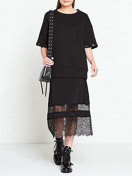 allsaints-fran-layered-boxy-jumper-and-lace-dress-black