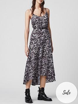 allsaints-essie-ambient-leopard-print-dress-grey