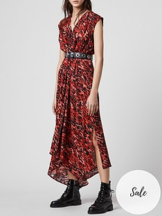 allsaints-tate-ambient-leopard-print-midi-dress-red