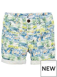 v-by-very-boys-palm-print-woven-short-multi