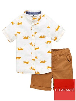 v-by-very-boys-palm-print-shirt-and-chino-short-set