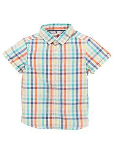 v-by-very-boys-short-sleeved-colourful-checked-shirt-multi