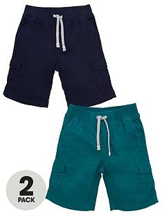 v-by-very-boys-2-pack-cargo-shorts-multi