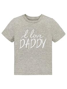v-by-very-unisex-i-love-daddy-short-sleeve-t-shirt-grey