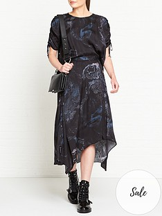 allsaints-rafaela-hatsukoi-marble-print-dress-black