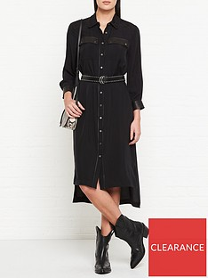 allsaints-esther-leather-pocket-shirt-dress-black
