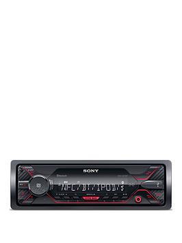 sony-dsx-a410bt-bt-mechaless-1wire-red-illumination-a400bt-successor