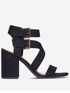 dorothy-perkins-saffron-heeled-sandals-ndash-black