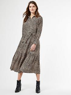 dorothy-perkins-dorothy-perkins-leopard-print-tie-neck-shirtdress
