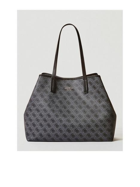 guess-vikky-all-over-logo-large-tote-bag-black