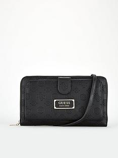 guess-logo-love-travel-cross-body-purse-black