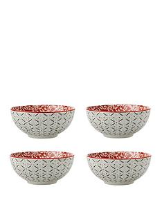 maxwell-williams-boho-damask-red-bowls-ndash-set-of-4