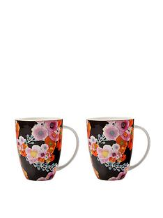 maxwell-williams-cashmere-bloems-black-mugs-set-of-2