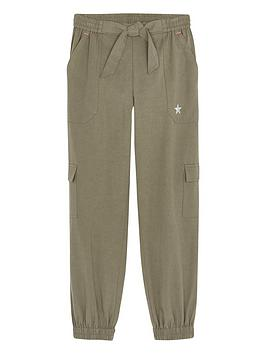 mintie-by-mint-velvet-girls-cargo-joggers-khaki