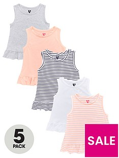 v-by-very-girls-5-pack-peplum-hem-vests-multi