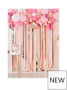 ginger-ray-blush-and-peach-balloon-and-fan-garland