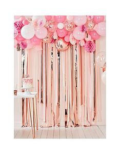 ginger-ray-blush-and-peach-birthday-balloon-and-fan-garland