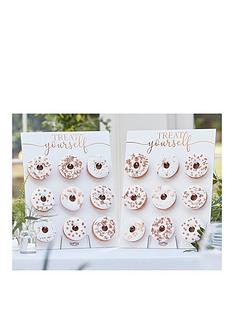 ginger-ray-rose-gold-treat-yourself-double-donut-wall-holders