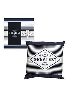 greatest-ever-dad-cushion-photo-frame