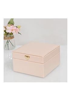 estella-blush-leatherette-jewellery-box-small