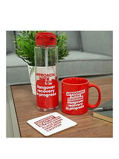ministry-of-humour-mug-coaster-water-bottle-gift-set