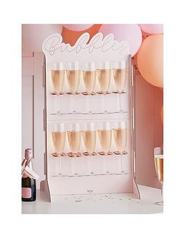 ginger-ray-rose-gold-foiled-amp-blush-cut-out-prosecco-wall