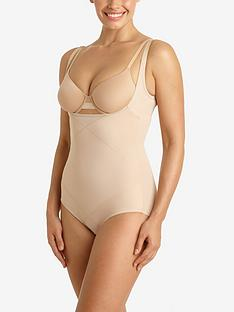 miraclesuit-instant-tummy-tuck-open-bust-body-briefer-nude