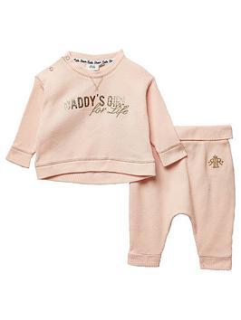 river-island-baby-girls-waffle-tshirt-and-legging-set-pink