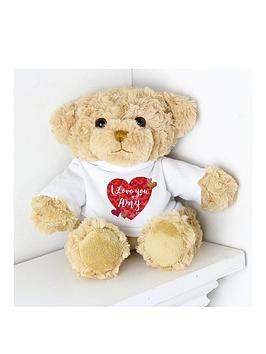 personalised-i-love-you-teddy-bear