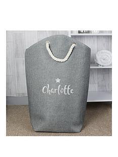 personalised-silver-print-storage-bag