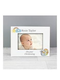 personalised-noahs-ark-christening-photo-frame