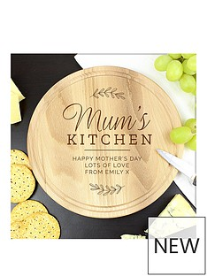 personalised-mums-kitchen-wooden-board