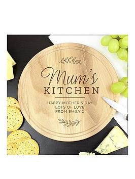 the-personalised-memento-company-mums-kitchen-round-chopping-board