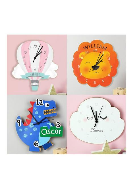 the-personalised-memento-company-personalised-childrens-shaped-clock