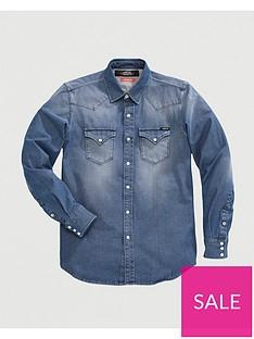 replay-hyperflex-denim-shirt