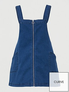 v-by-very-curve-denim-zip-through-pinafore-dress-mid-wash